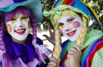 Two Clown Girl Party Kids Entertainer