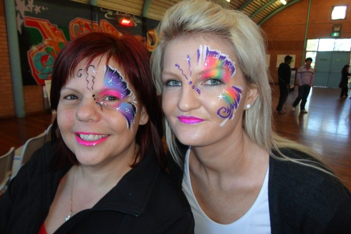 polka dots and face painting 079